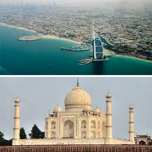 VIAJE A INDIA Y DUBAI: Triangulo de oro con Dubai en Grupo
