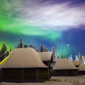 VIAJE A FINLANDIA: Bajo La Aurora Boreal En Saariselka