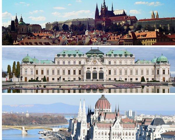 VIAJE A REP. CHECA, AUSTRIA Y HUNGRIA: Praga, Viena y Budapest