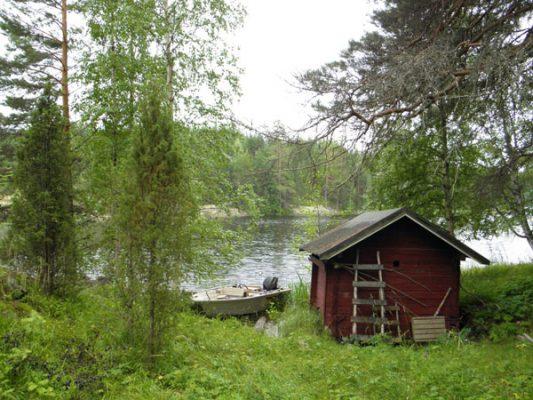 VIAJE A FINLANDIA: Las Cabañas de los Lagos