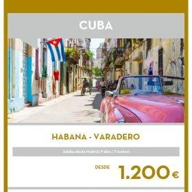 VIAJE A CUBA: Habana y Varadero en Navidad y Fin de año