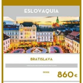 VIAJE A ESLOVAQUIA: Bratislava puente de Diciembre