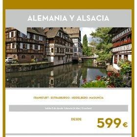VIAJE A ALEMANIA: Alemania y Alsacia Puente de Diciembre
