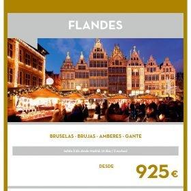 VIAJE A FLANDES: Flandes Puente de Diciembre