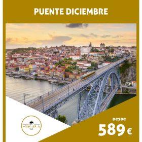 VIAJE A PORTUGAL: Oporto Puente Diciembre