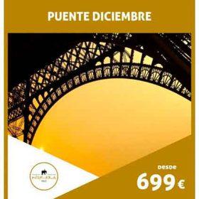 VIAJE A FRANCIA: Paris Puente Diciembre